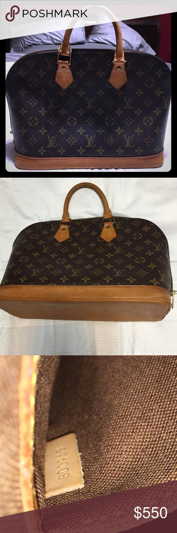authentic Louis Vuitton Alma pm Such a beautiful bag! Authentic LV Alma pm. 84b7e02a09
