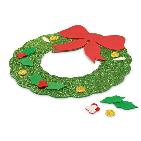 guirnalda en goma eva decoracin navidad