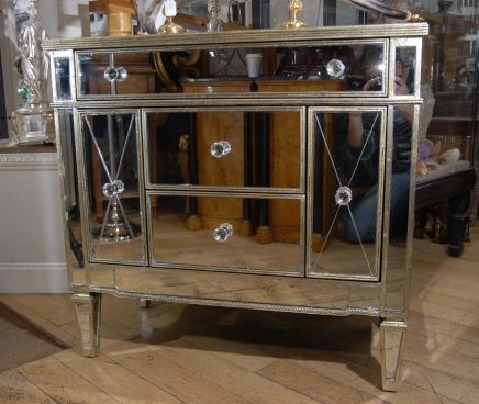 Delightful I Was Never Into The Mirrored Furniture, But Now I NEED A Piece Like This