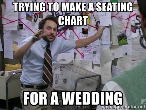 Trying to make  seating chart for wedding also memes pinterest rh