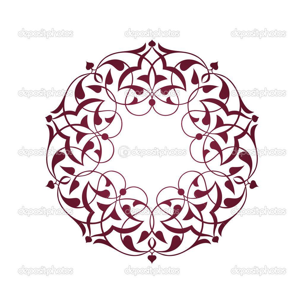 Selcuklu Motifleri Vektorel Google Da Ara Arabesk Desen Tezhip Sanat Desen