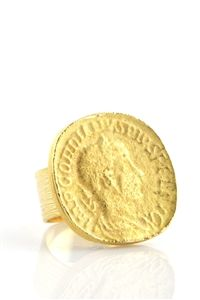 Vintage Coin Ring