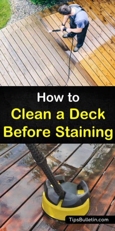 5 Handy Ways to Clean a Deck Before Staining It House