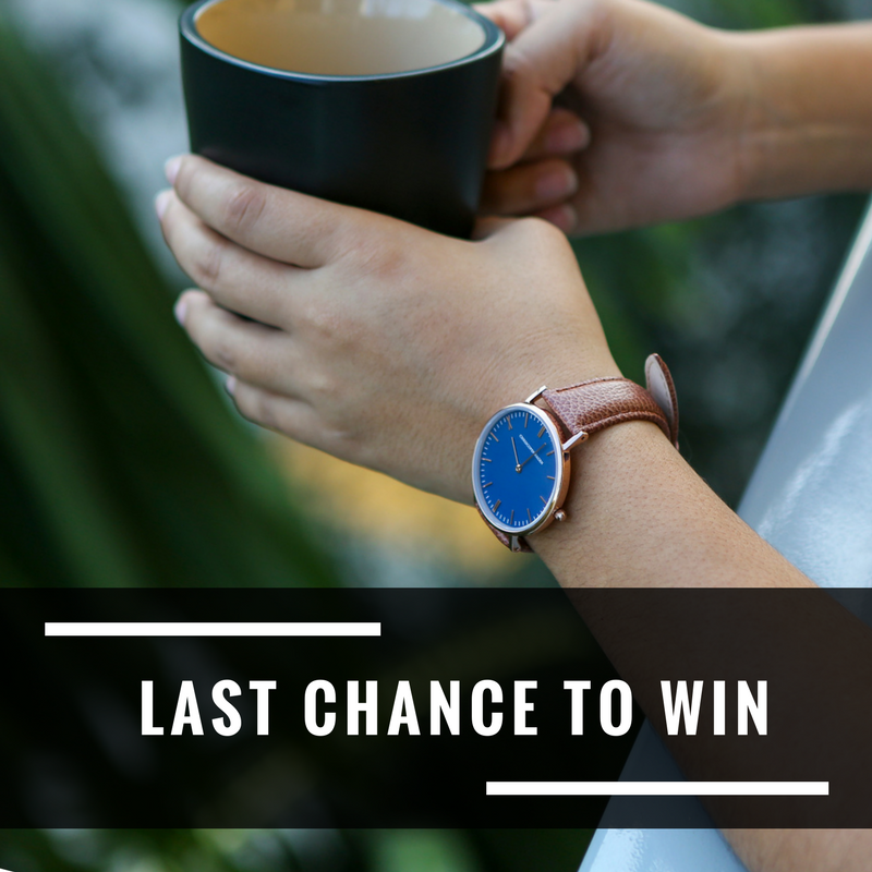 Last chance to join our giveaway today!   •  1) Open to Europe ONLY  2) Follow @uniwatches  3) Tag 3 friends AND repost this image to your IG page (remember to tag @uniwatches)  •   Giveaway Open Until: 05/31/17  Giveaway Prize: Get a chance to win this ChrisCopenhagen watch.   Check link http://bit.ly/2q68eLQ?utm_content=buffer87f86&utm_medium=social&utm_source=pinterest.com&utm_campaign=buffer