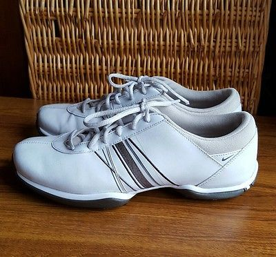 Nike Black Leather TAC Golf Cleats Sz 11 Sneakers Tennis Shoes