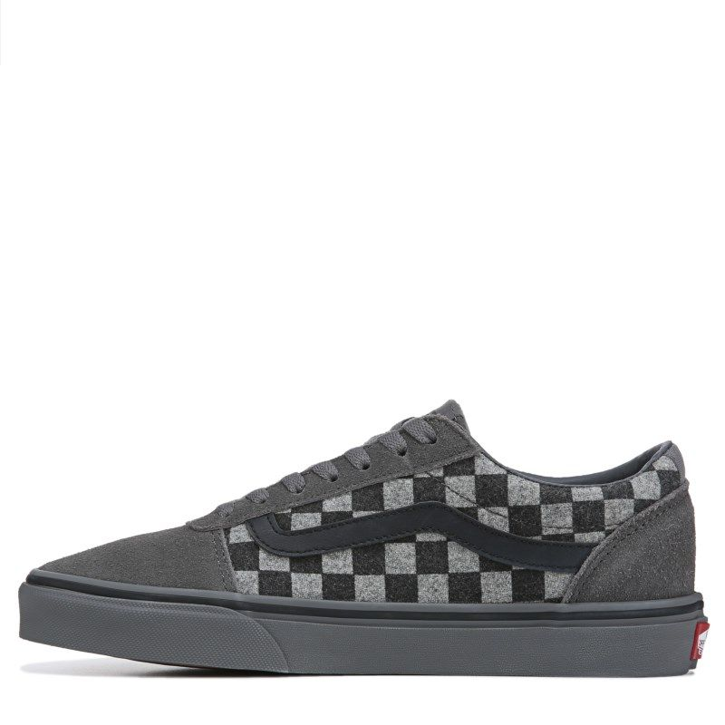 dc543eb684df Vans Men s Ward Low Top Sneakers (Checkerboard Grey)
