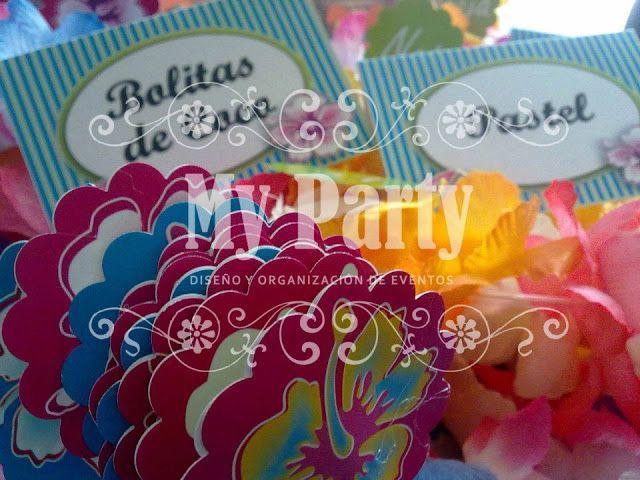 Ideas para tus fiestas infantiles fiesta hawaiana ideas - Fiestas infantiles ideas ...