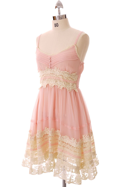 Playful dress my style pinterest pink lace dresses lace dress