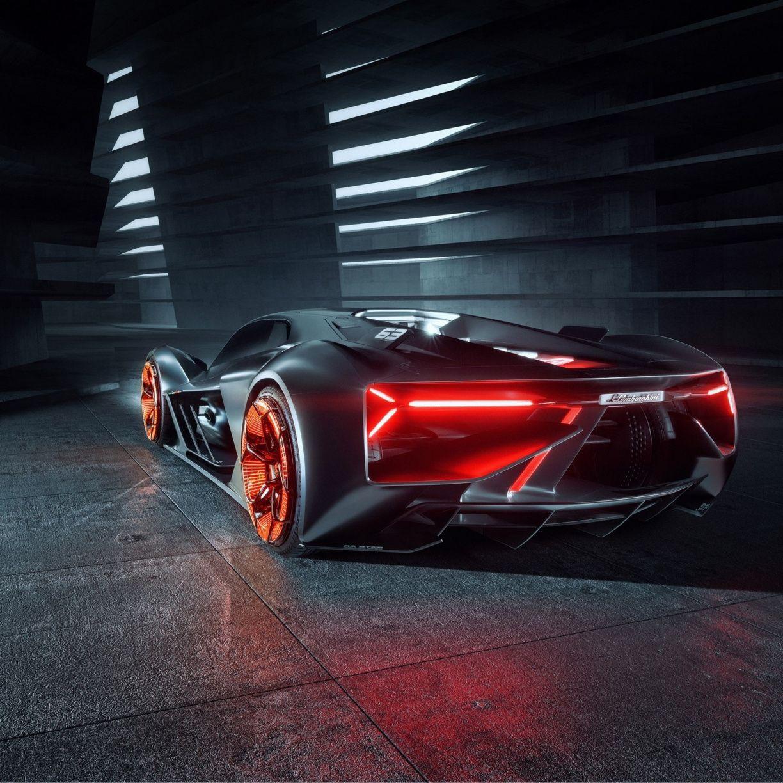 Rear View Lamborghini Terzo Millennio 2019 Sports Car 1224x1224 Wallpaper Super Luxury Cars Lamborghini Lamborghini Cars