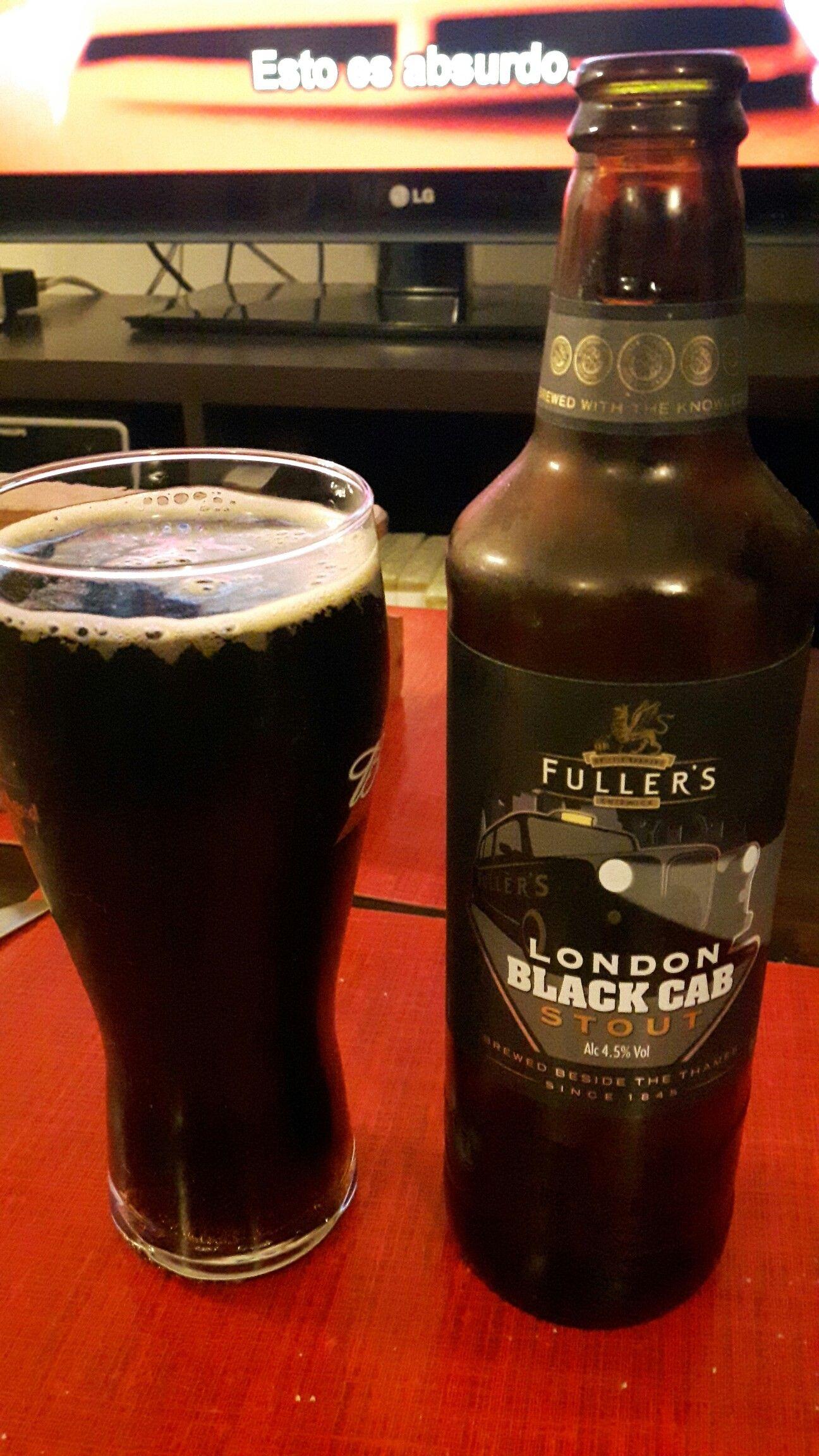 Fullers, black cab, Stout. Británica, Stout amarga, cuerpo delgado, sabor tostado. Repetir: no