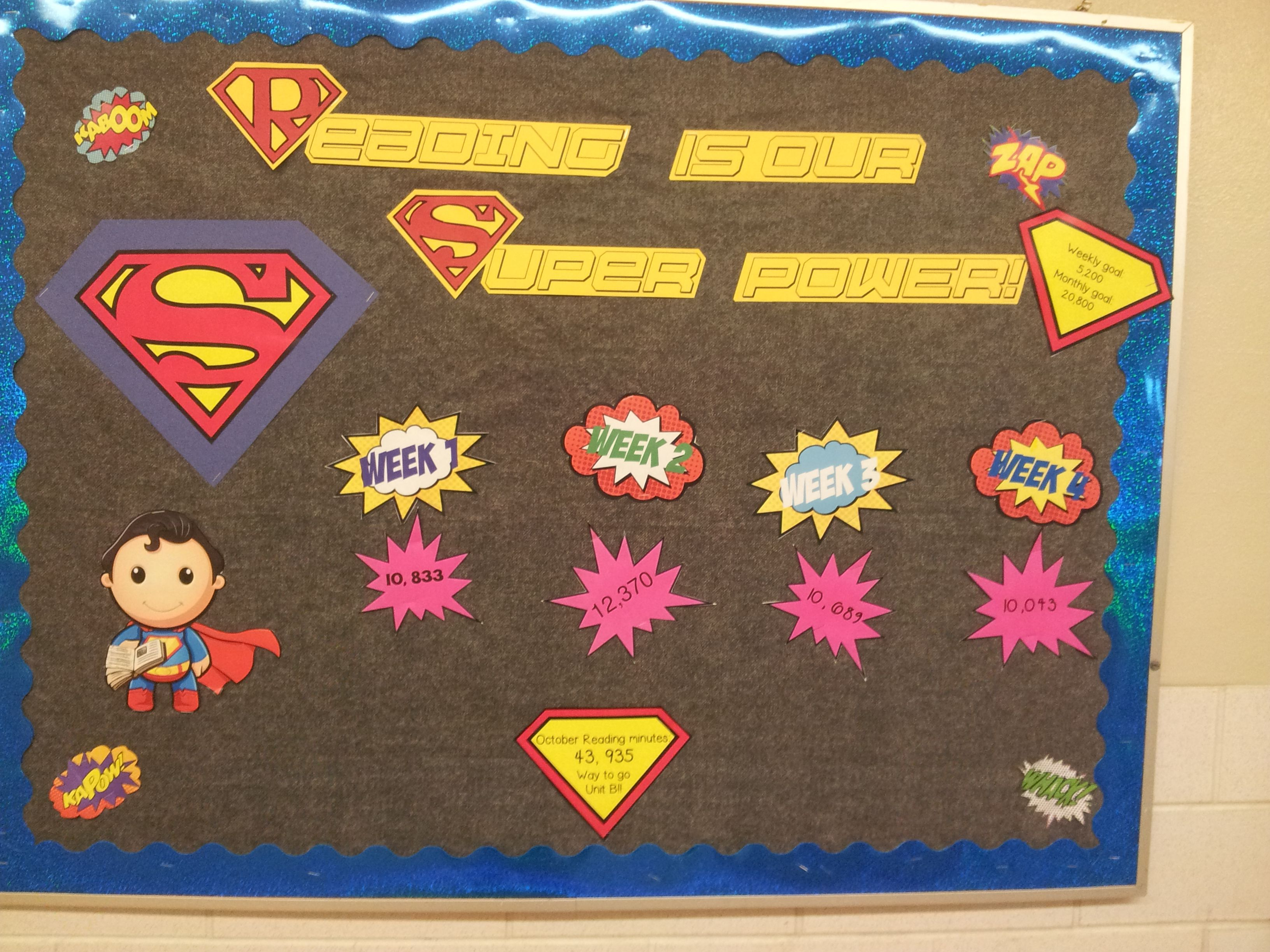 Super Hero Goal Tracking