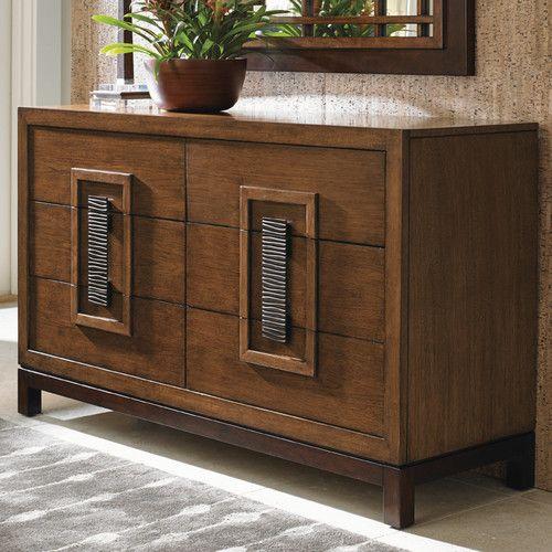 Wayfairca - Island Fusion Tahara 6 Drawer Dresser - $4700