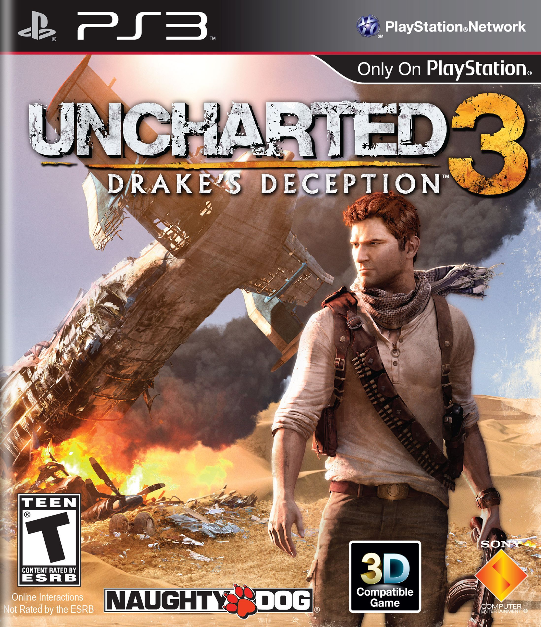 Uncharted 3 Drake S Deception Playstation 3 Uncharted Drake Uncharted Game Uncharted