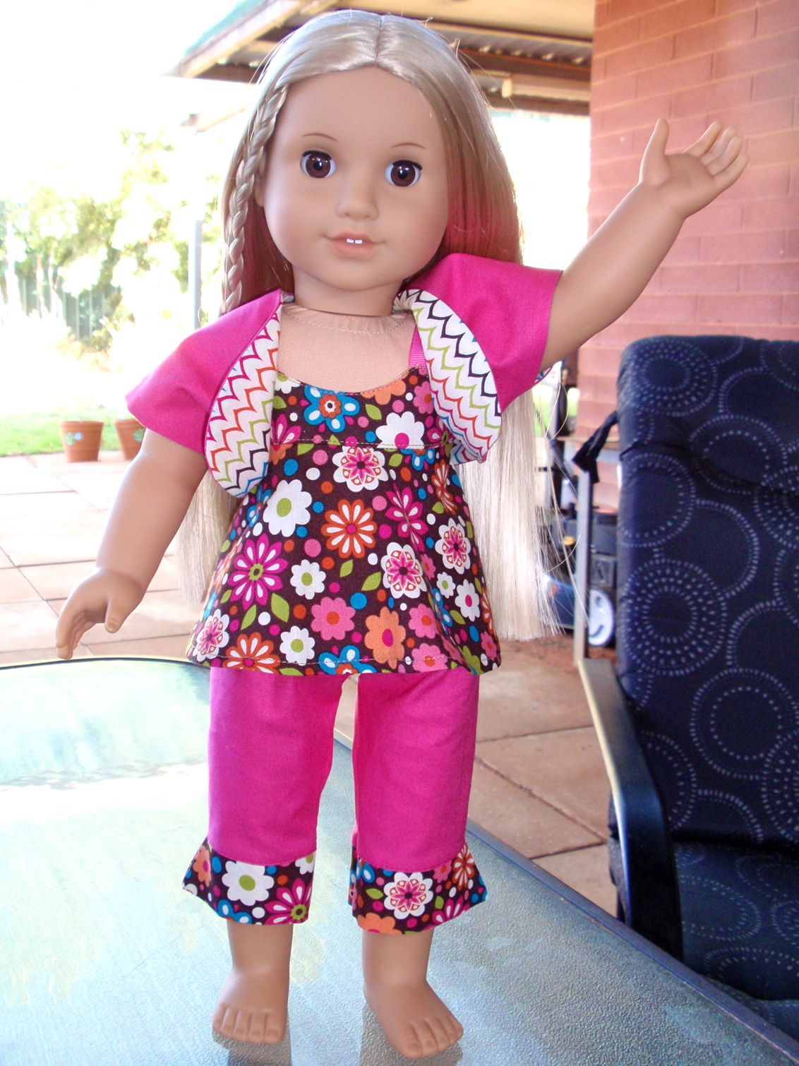 1st outfit I made for my American Girl Doll \