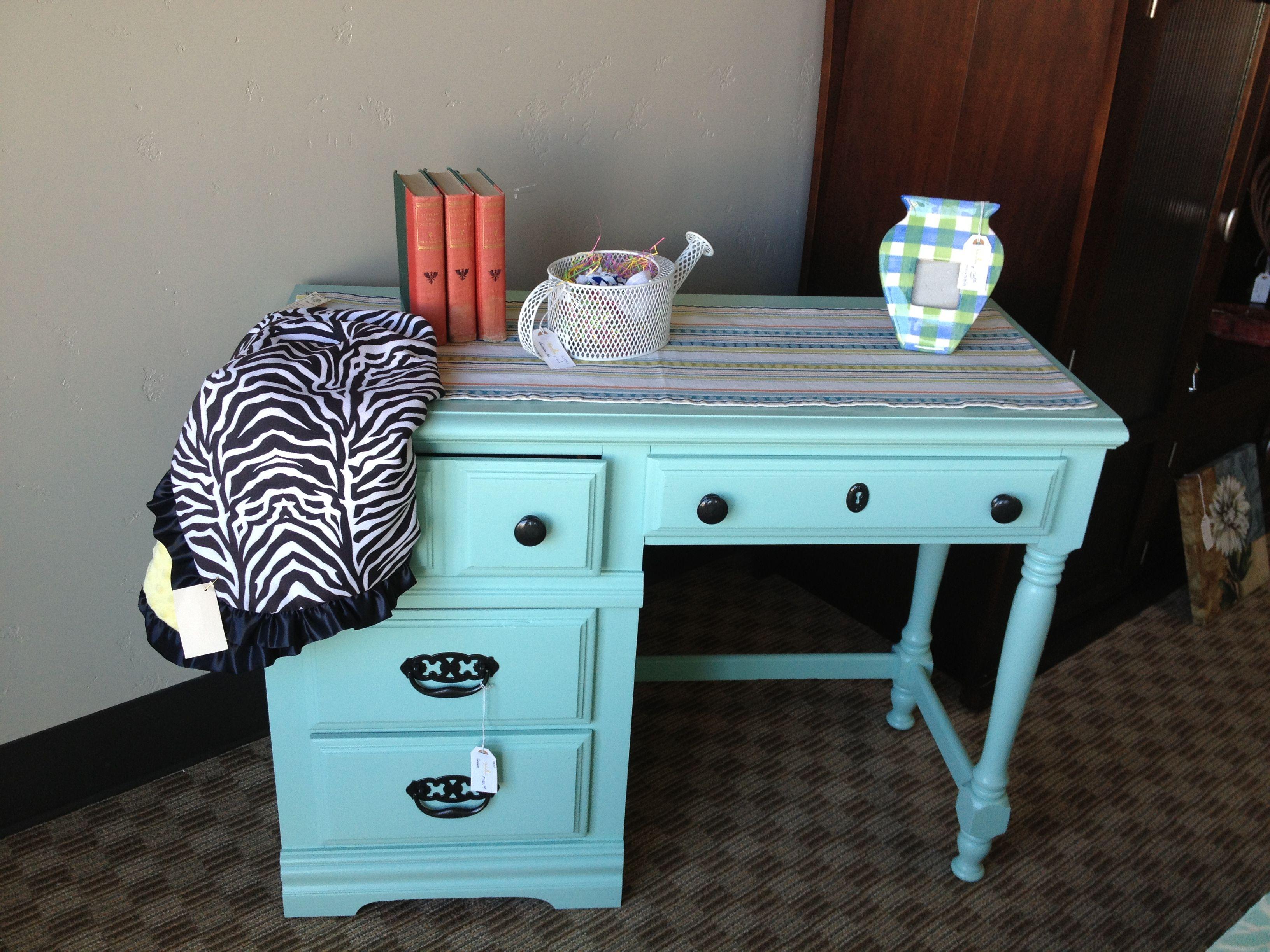 darling mint colored desk furniture decor interior on desk color ideas id=33002