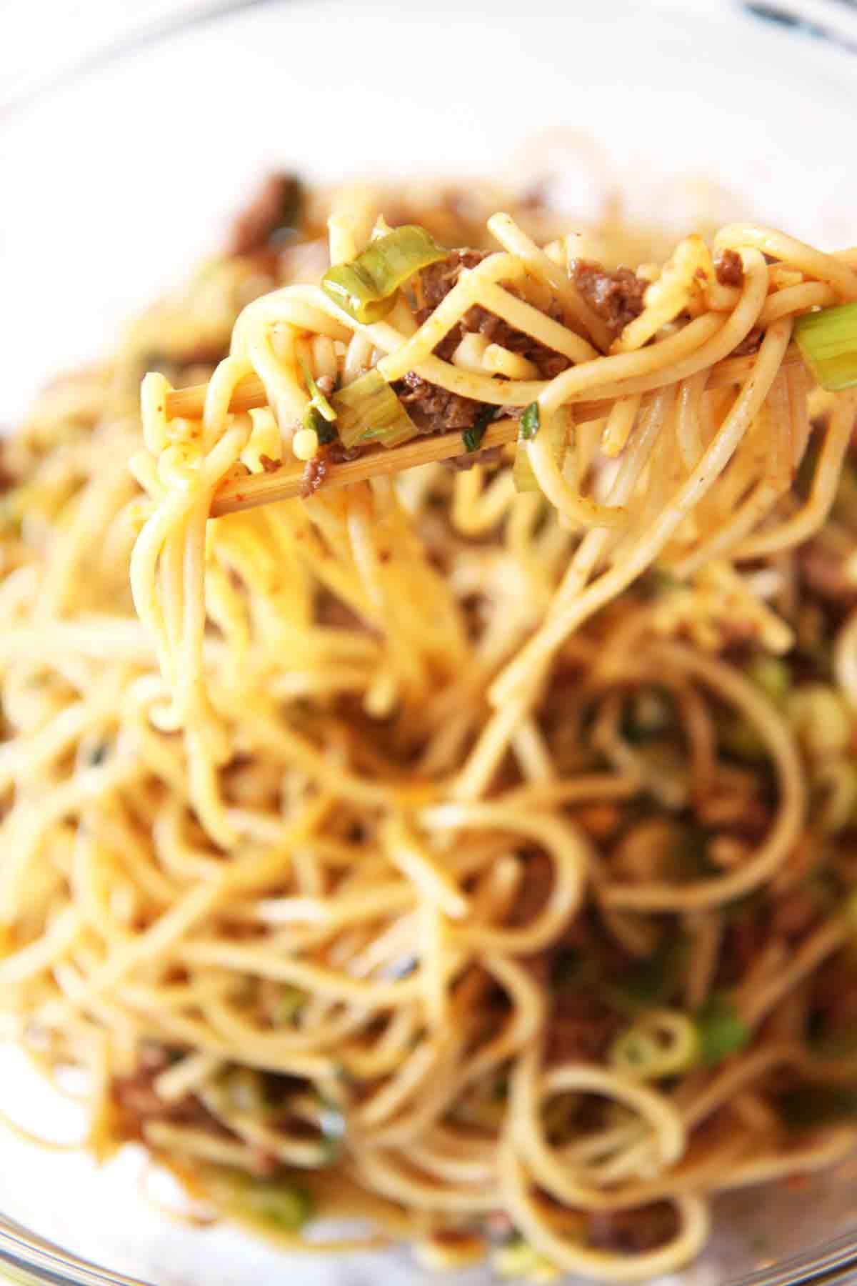 Mexican noodle bowl recipe main dish recipes noodle