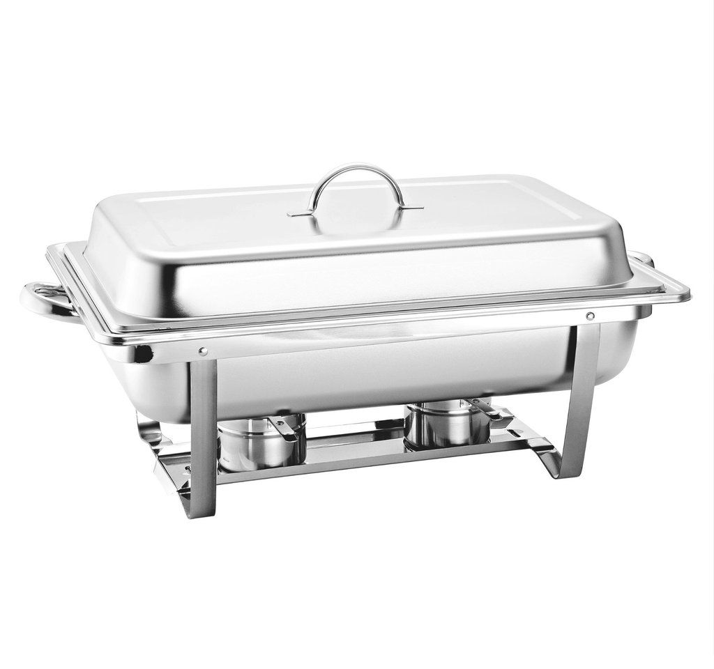 Stainless Steel Chafing Dish Food Pan Warmer 9 5l Single With 2
