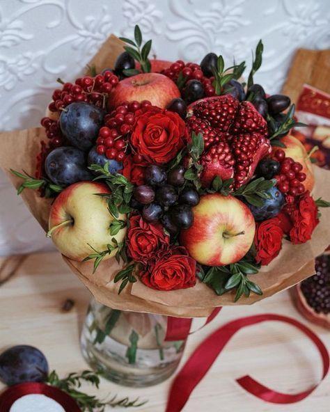 Flower Arrangements El Paso: Frutas Decoradas, Arreglos De
