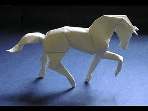 Origami Horse Instructions Flvs Paper Horse Ideas Pinterest