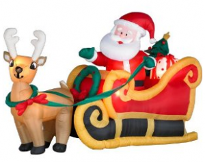 Inflatable Christmas Decorations   Products   Pinterest .