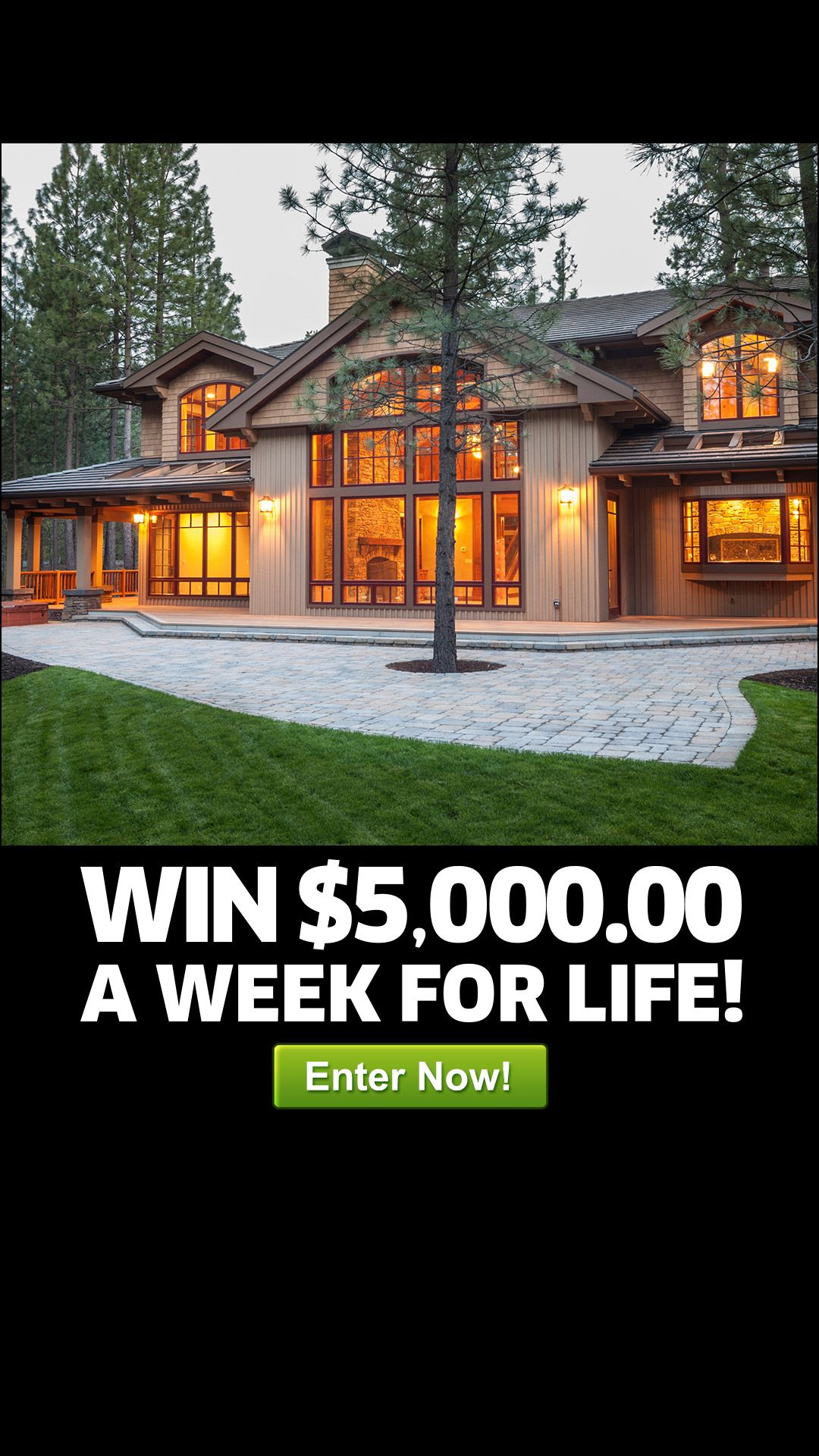 Don't miss your shot at WINNING MILLIONS! Enter for free and you