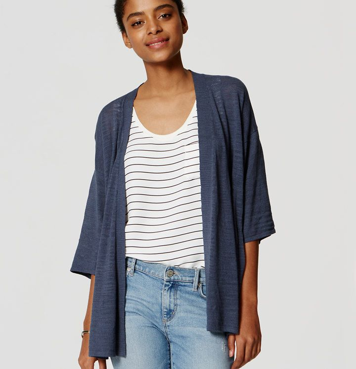 Sheer Kimono Cardigan | Loft | Fashion | Pinterest | Kimonos ...