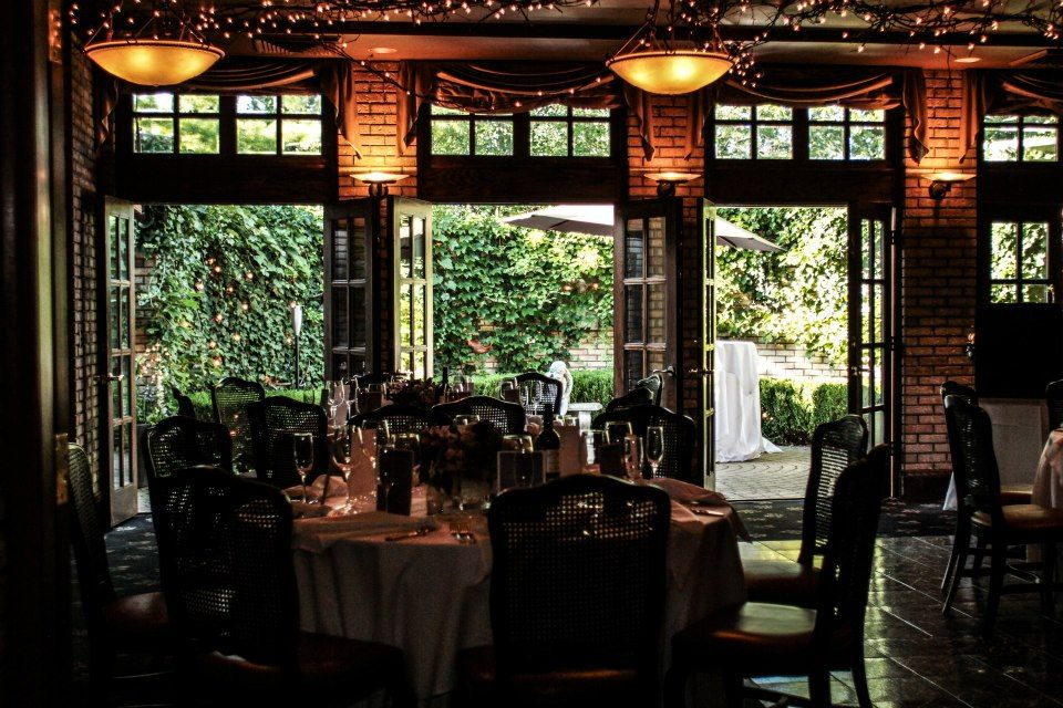 Cafe Cortina's stunning dining room offers guests a beautiful ...