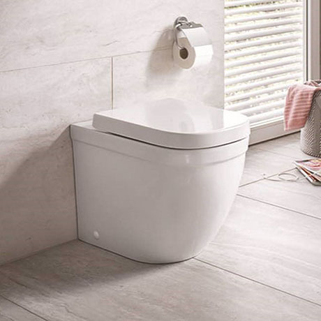 Grohe Euro Rimless Back To Wall Toilet With Soft Close Seat In 2020 Back To Wall Toilets Toilet Wall