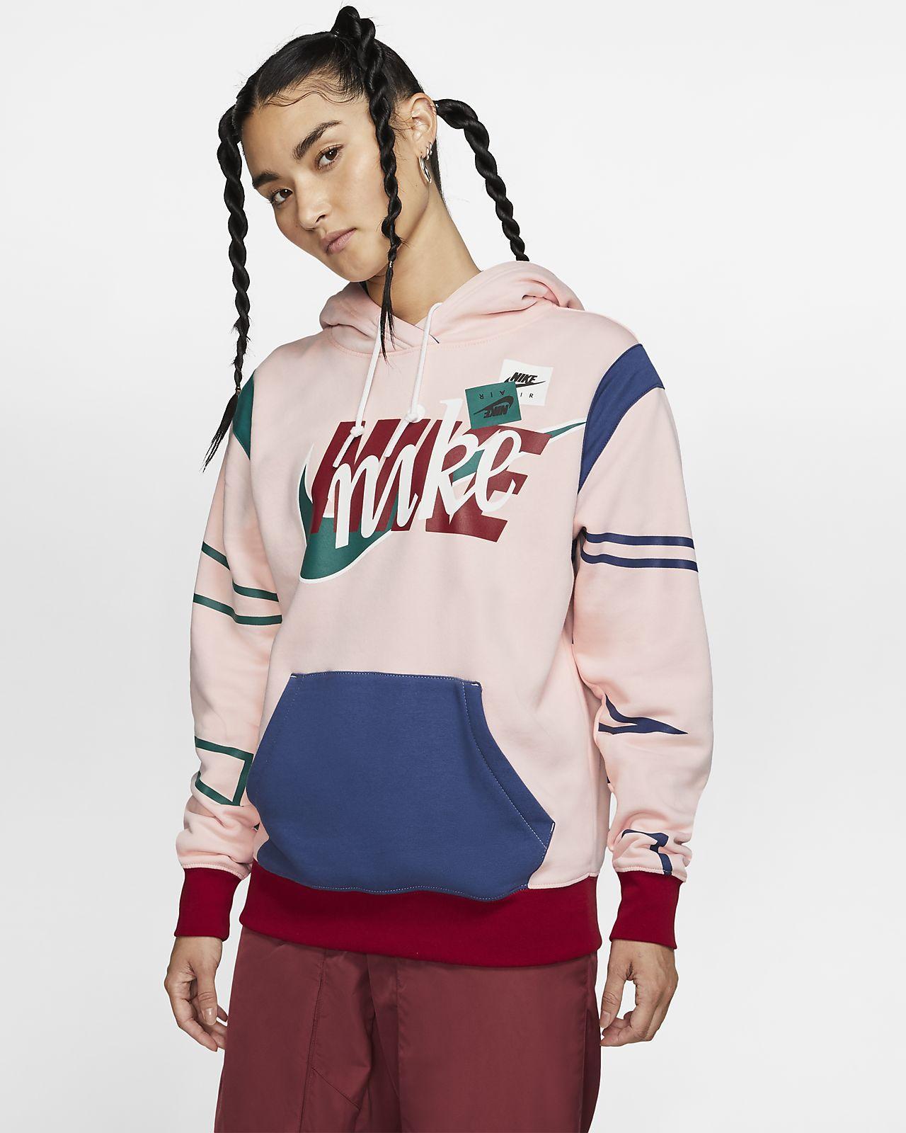 Nike Sportswear Women S Af1 Pullover Hoodie Nike Com Nike Sportswear Women Women Hoodies Sweatshirts Nike Sportswear [ 1600 x 1280 Pixel ]