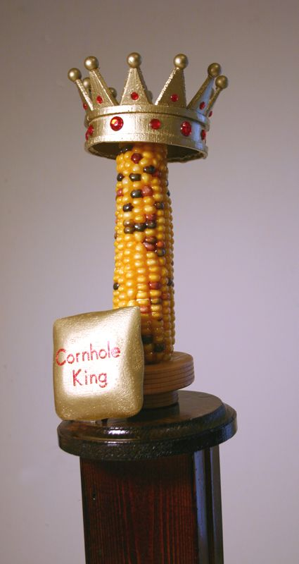 Cornhole King Trophy For The Avondale Estates Annual