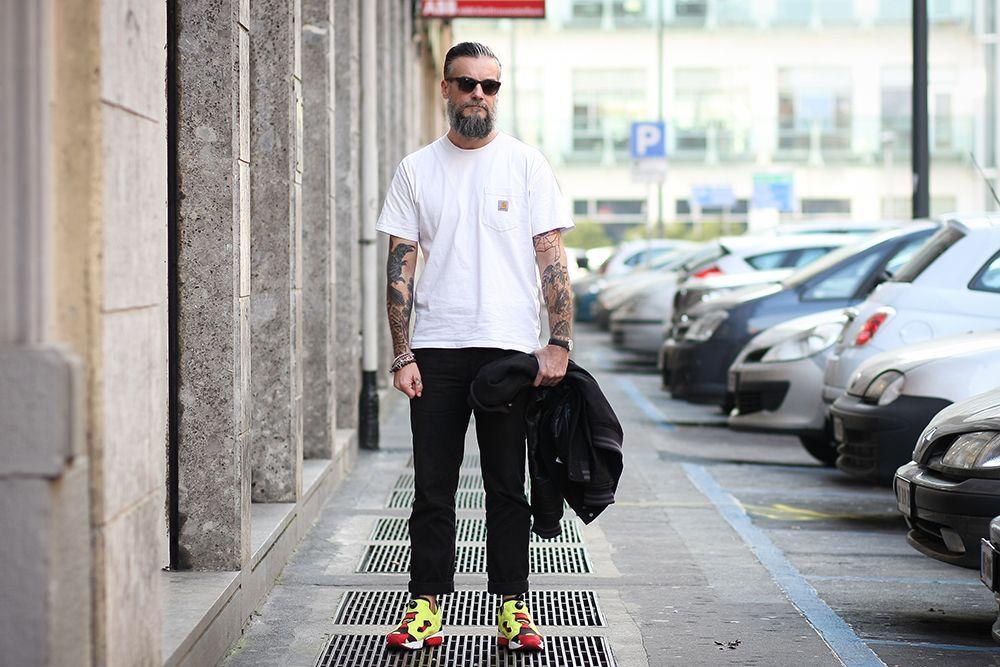 reebok instapump street style