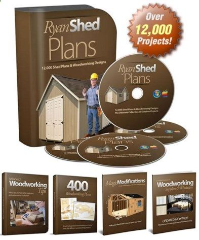 RyanShedPlans™ is a complete guide that explains how you can build a beautiful shed from scratch. It contains a wide range of design to choose from (12,000 shed plans and woodworking patterns). All plans are complete from start to finish, and include material lists, detailed diagrams, and explicit step by step instructions. digiebookstore.co...