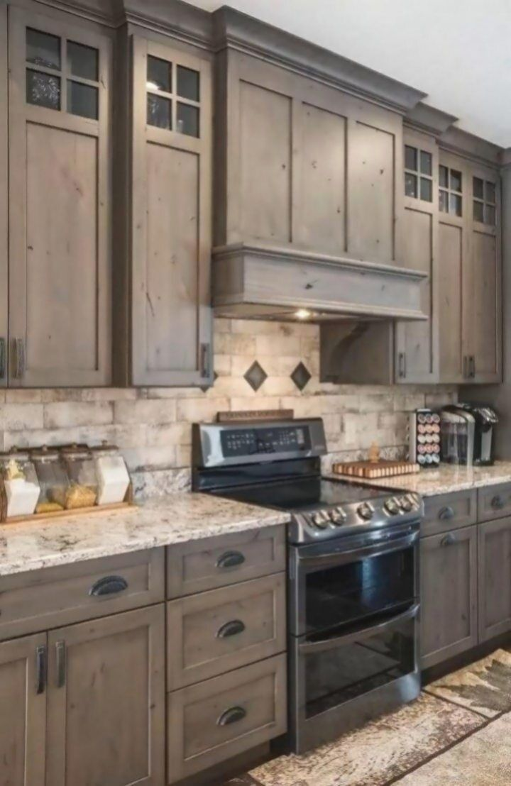 Custom Cabinets Handcrafted By The Amish Select Your Wood Type Rdware En 2020 Design De Cuisine Rustique Armoires De Cuisine En Bois Armoires De Cuisine Rustiques