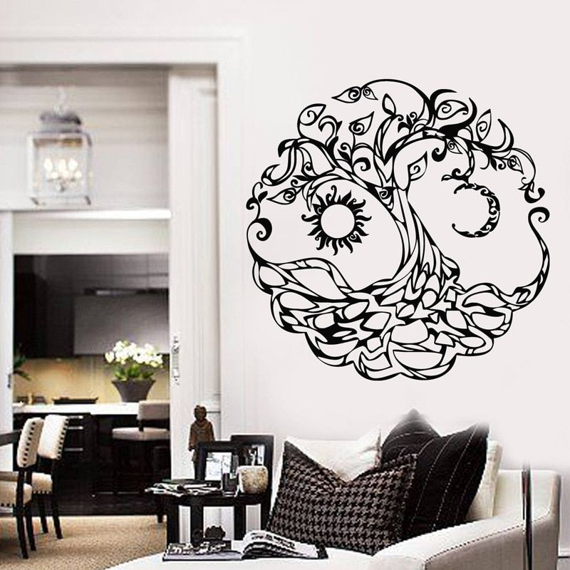 Stickers Decoration Murale Arbre De Vie Decoration Murale Parement Mural
