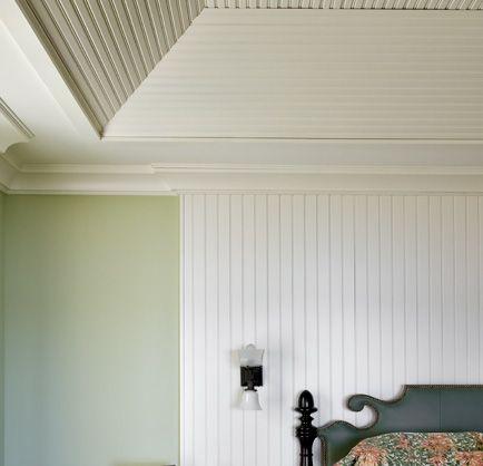 beadboard ceilings | Decorating Addiction: Hiding Bad ...