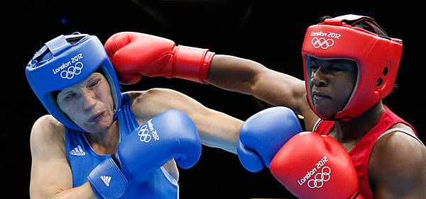 Claressa Shields youngest boxer to win gold since 1924...