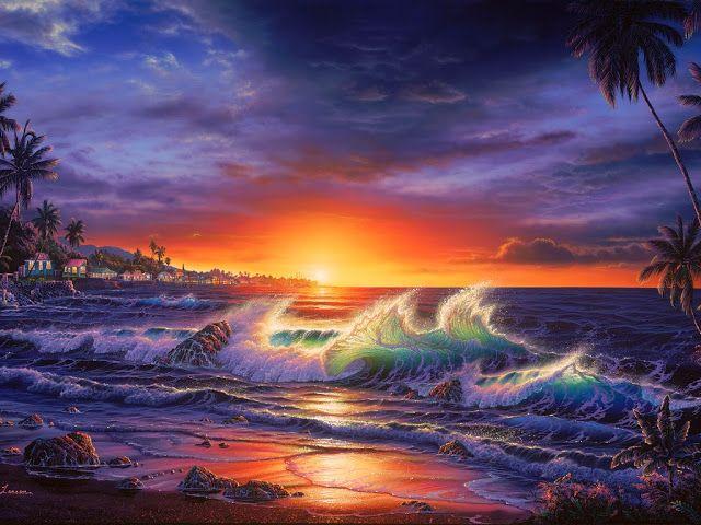Il mondo di Mary Antony: I paesaggi marini di Christian Lassen Reise ...