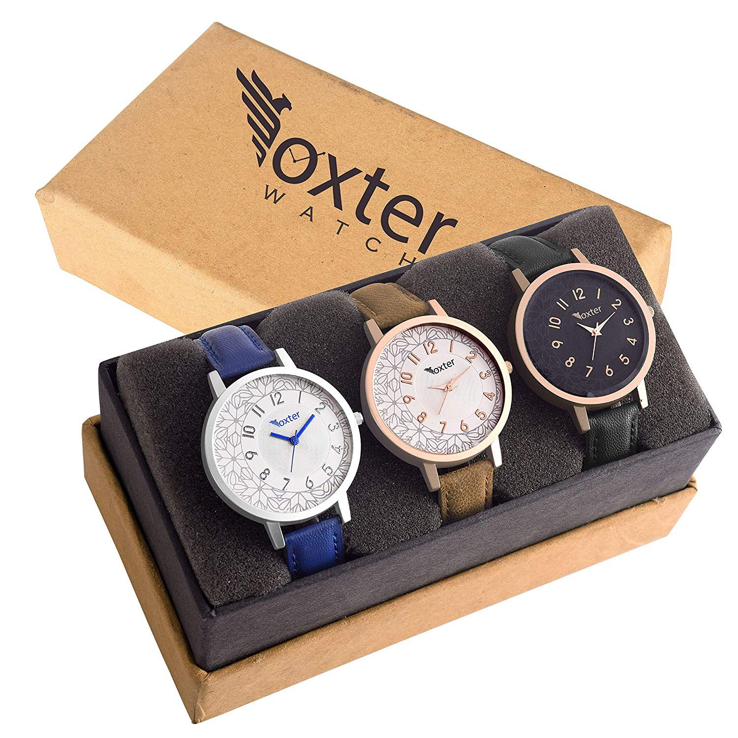 36788f4bd ONLY 499 rs Foxter Analogue Display Dial Women's Watches Pack of 3 #WWW-1