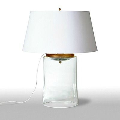 glass cylinder lamp frosted glass offering understated elegance the glass cylinder table lamp from barbara cosgrove is an ideal addition to living rooms bedrooms and dining rooms