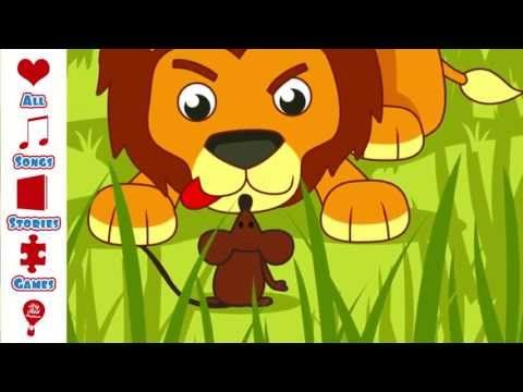 Children's Story | The Lion and The Mouse | children's story