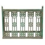 Classic Home Furniture - Wood Jali Console In Green - 59028272