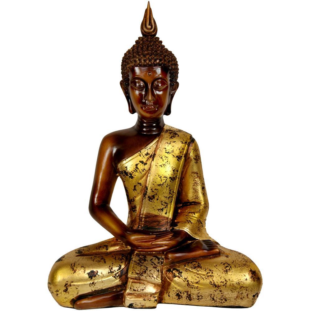 Groovy Oriental Furniture 16 In Thai Sitting Buddha Decorative Download Free Architecture Designs Boapuretrmadebymaigaardcom
