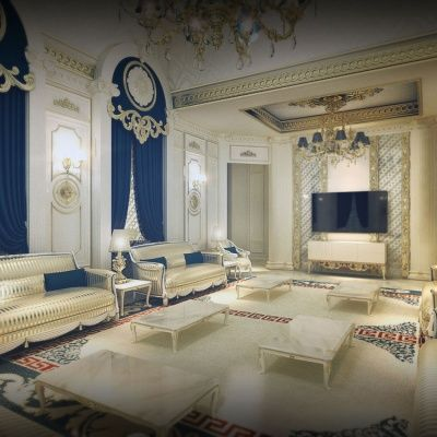 Luxury Classical Interior Palace House Designs With Exotic
