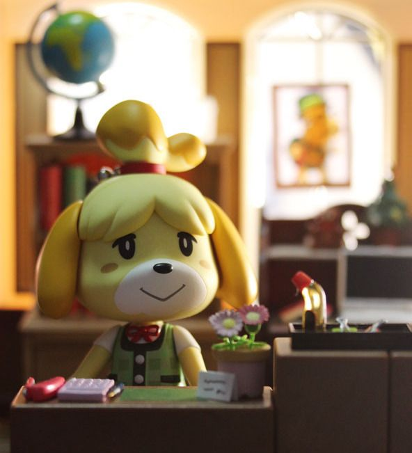 Isabelle Nendoroid Figure released by goodsmile -