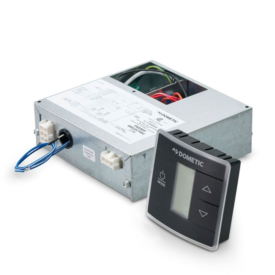 Dometic 3316234 716 Single Zone Ct T Stat W Control Board Kit Cool Furnace Heat Pump Black Heat Pump Air Conditioner Heating Furnace Air Conditioning Unit