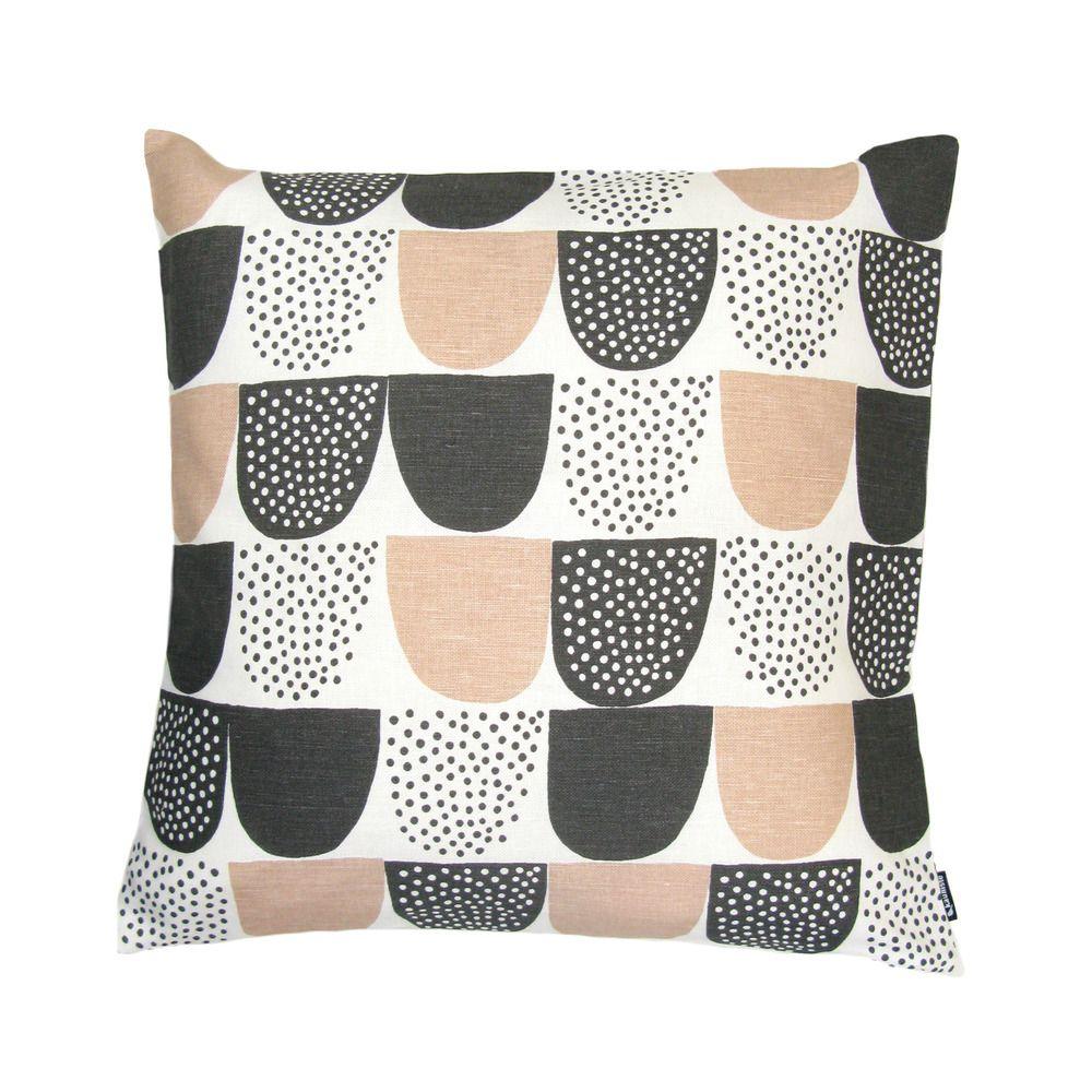 Sokeri pink cushion cover tyynynpäällinen uac by kauniste