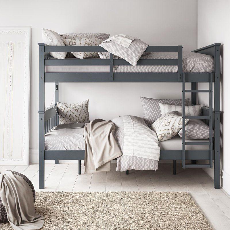 Harriet Bee Almedacheatham Full Over Full Bunk Bed Reviews