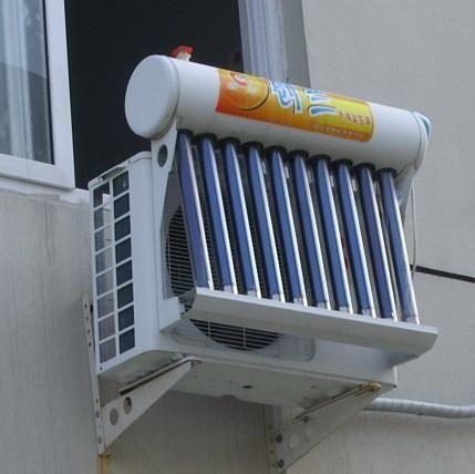 Aire Acondicionado Solar 1 Solar Air Conditioner Solar Energy Heating Air Conditioning