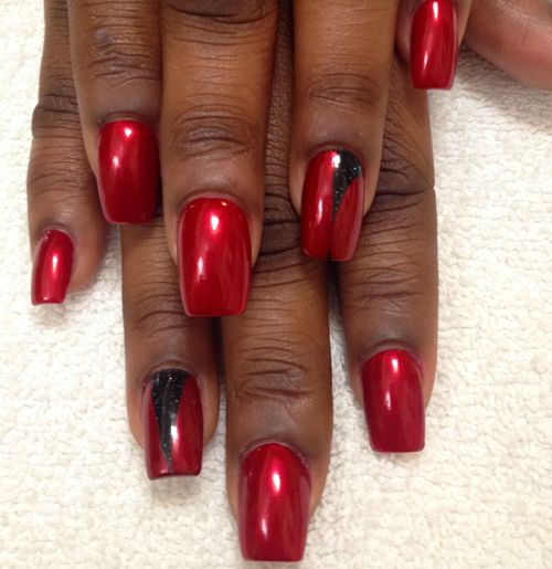Nail Art Tutorial Designs Red Nails Cherry