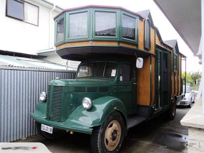 Crazy Wooden Homes on Wheels Are Ripped Out of Vic